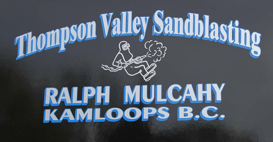 thompson valley sandblasting